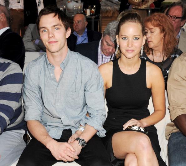 Kristen Stewart and Nicholas Hoult reportedly bonded after he split from Jennifer Lawrence.