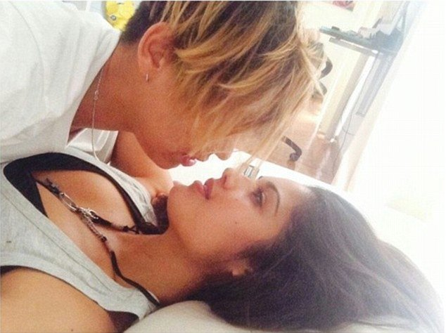 Patricia Yurena posted this image, called 'Romeo and Juliet', on her Instagram page. It shows her with girlfriend Vanesa Klein, a Spanish DJ and singer.