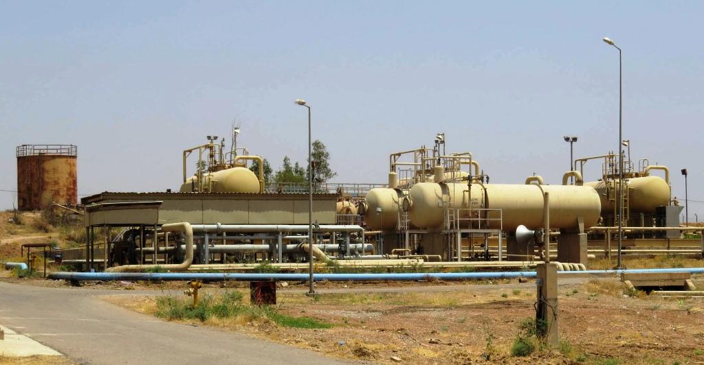 Bai Hassan Oilfield Kirkuk Iraq