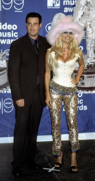 Carson Daly and Pamela Anderson