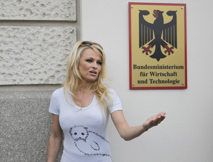 Pamela Anderson refused the ALS ice bucket challenge