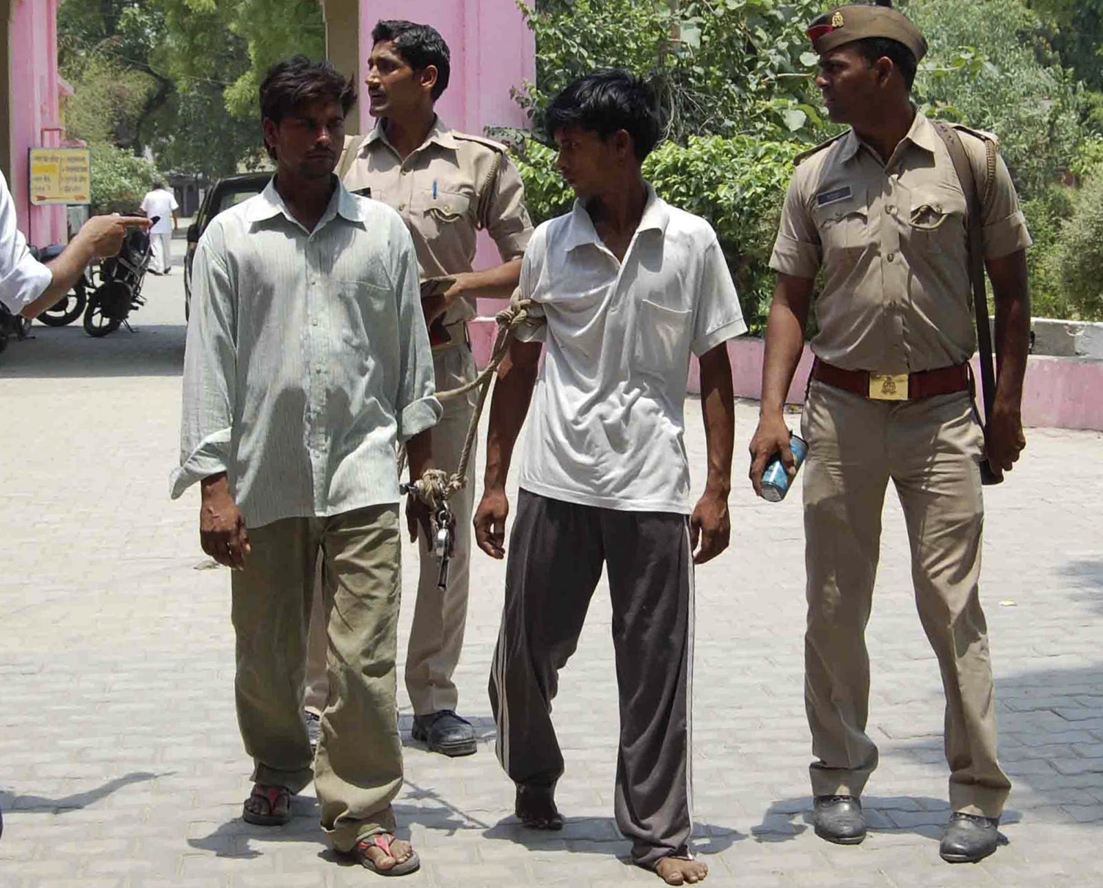 Uttar Pradesh alleged rapists