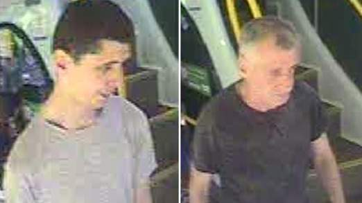 Bus ticket burglars