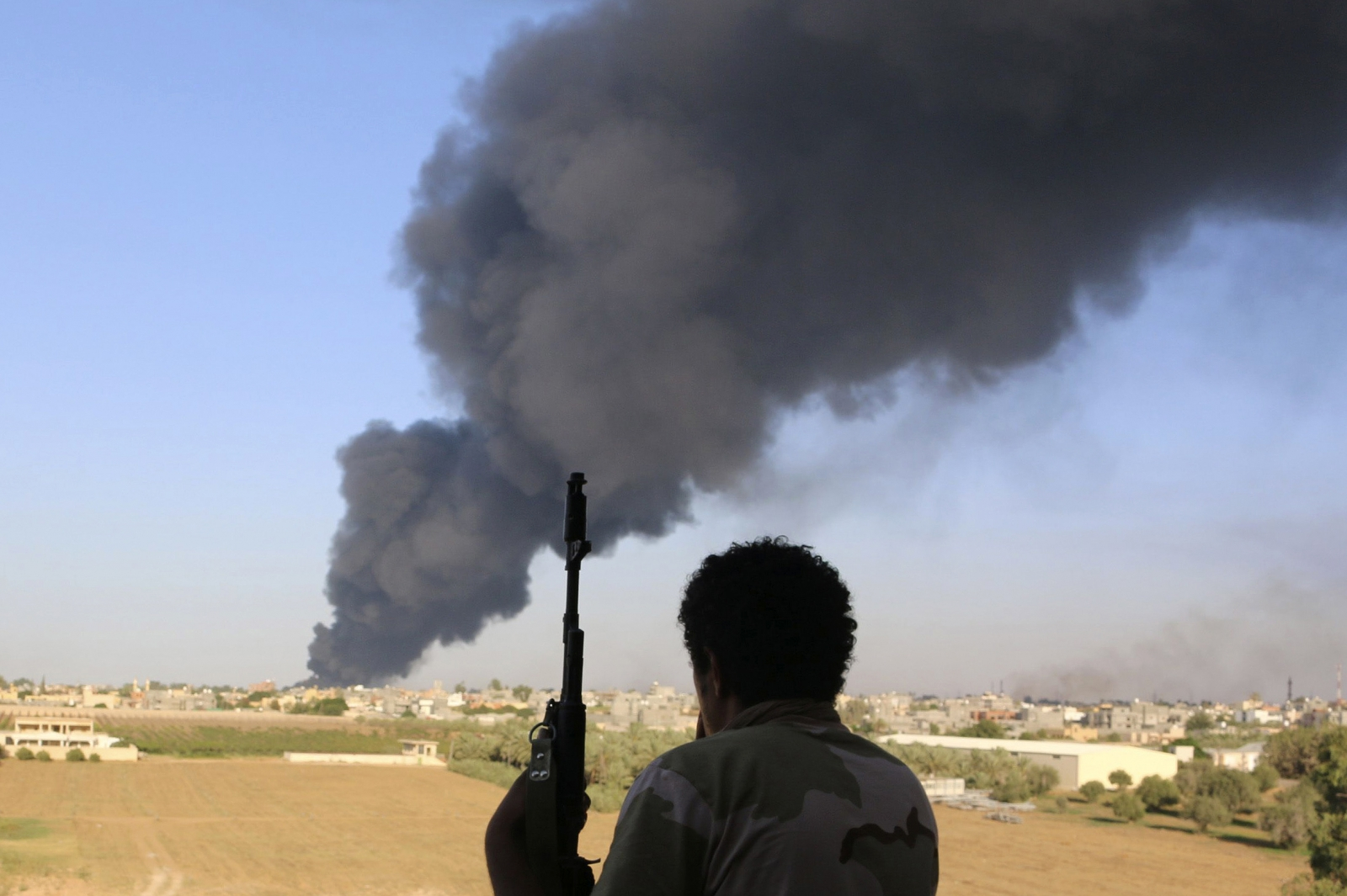 Rival militias competing for power have targeted Libya's parliament