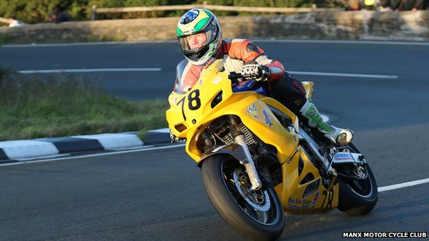 Tim Moorhead was killed during a qualifying session for the 2014 Manx Grand Prix on the Isle of Man