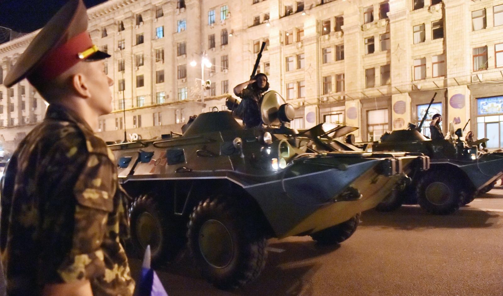 Ukraine Independence Day - APCs