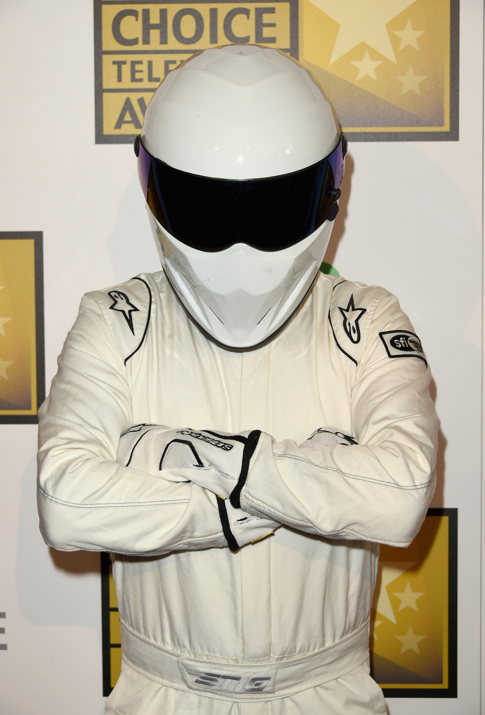 The Stig, of Top Gear fame. Also the moniker of a dark net dealer offering 'Stig's Choice acid pills. (Getty Jason Merritt)