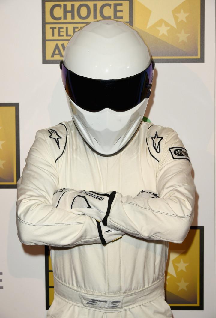 The Stig, of Top Gear fame. Also the moniker of a dark net dealer offering 'Stig's Choice acid pills. (Getty Jason Merritt)