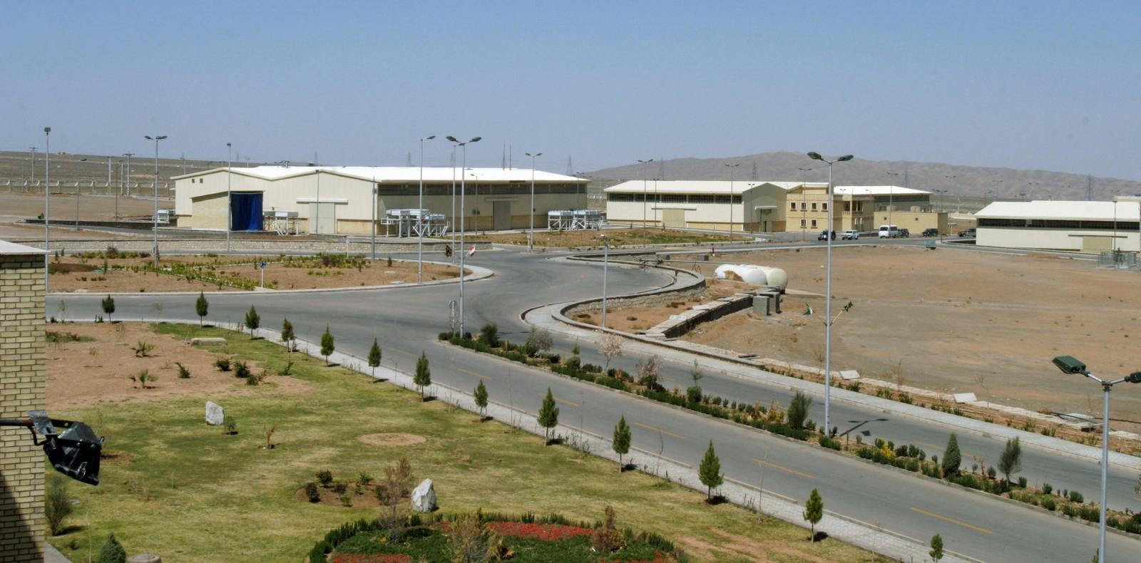 Natanz nuclear facility in Iran