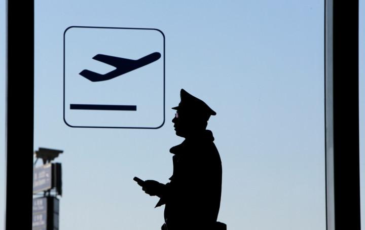 Beijing Airport Policeman