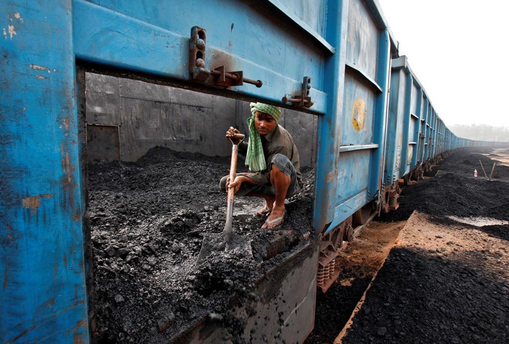 Coal Goods Train India