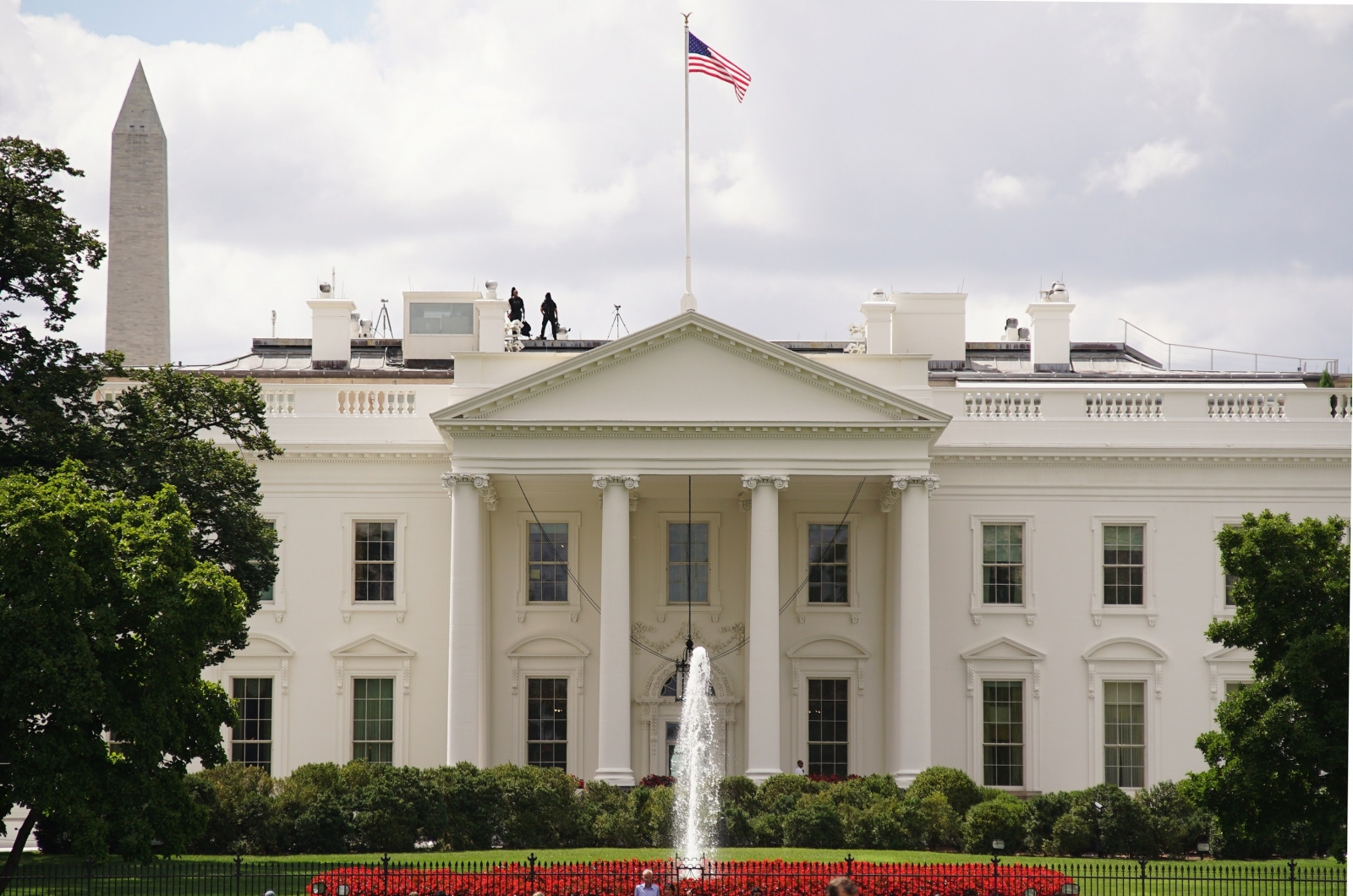 On 24 August 1814, British troops occupied Washington for 26 hours - setting fire to several buildings, including the White House.