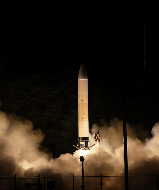 The US Army's Advanced Hypersonic Weapon exploded four seconds after takeoff in a test mission.