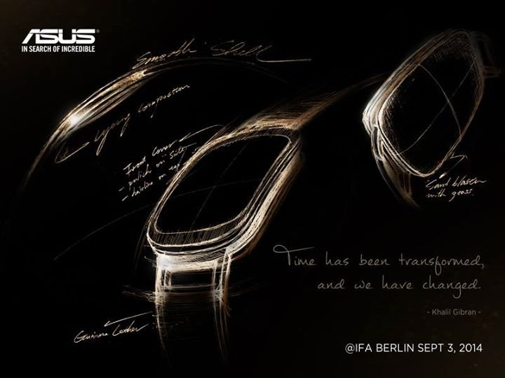 Asus sub $100 Smartwatch with Curved Display Form Factor Headed to IFA 2014: Wearable to Feature Gesture and Voice Controls