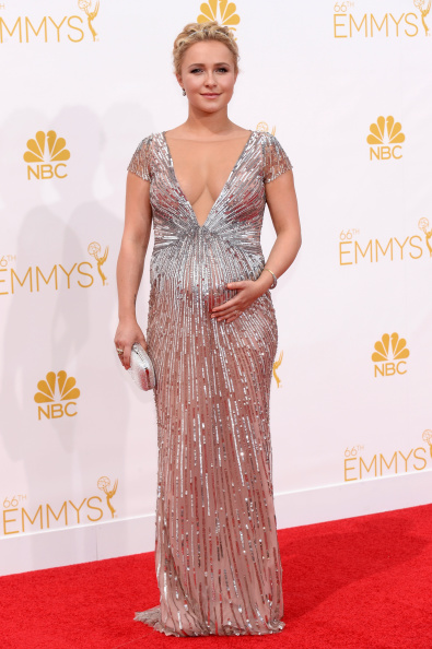 Actress Hayden Panettiere arrives to the 66th Annual Primetime Emmy Awards held at the Nokia Theater on August 25, 2014.