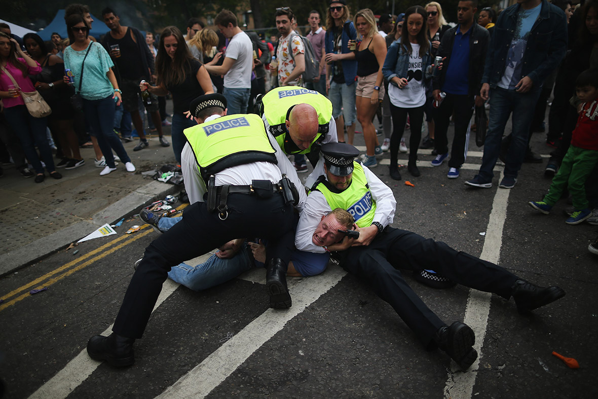 notting hill carnival arrest
