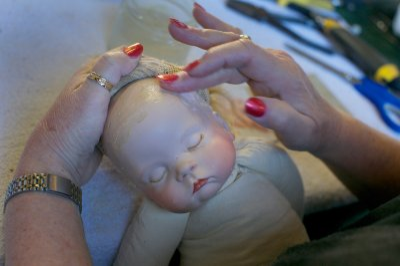 dolls head creepy