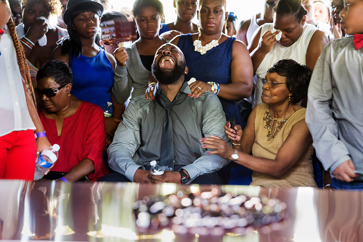 mike brown funeral