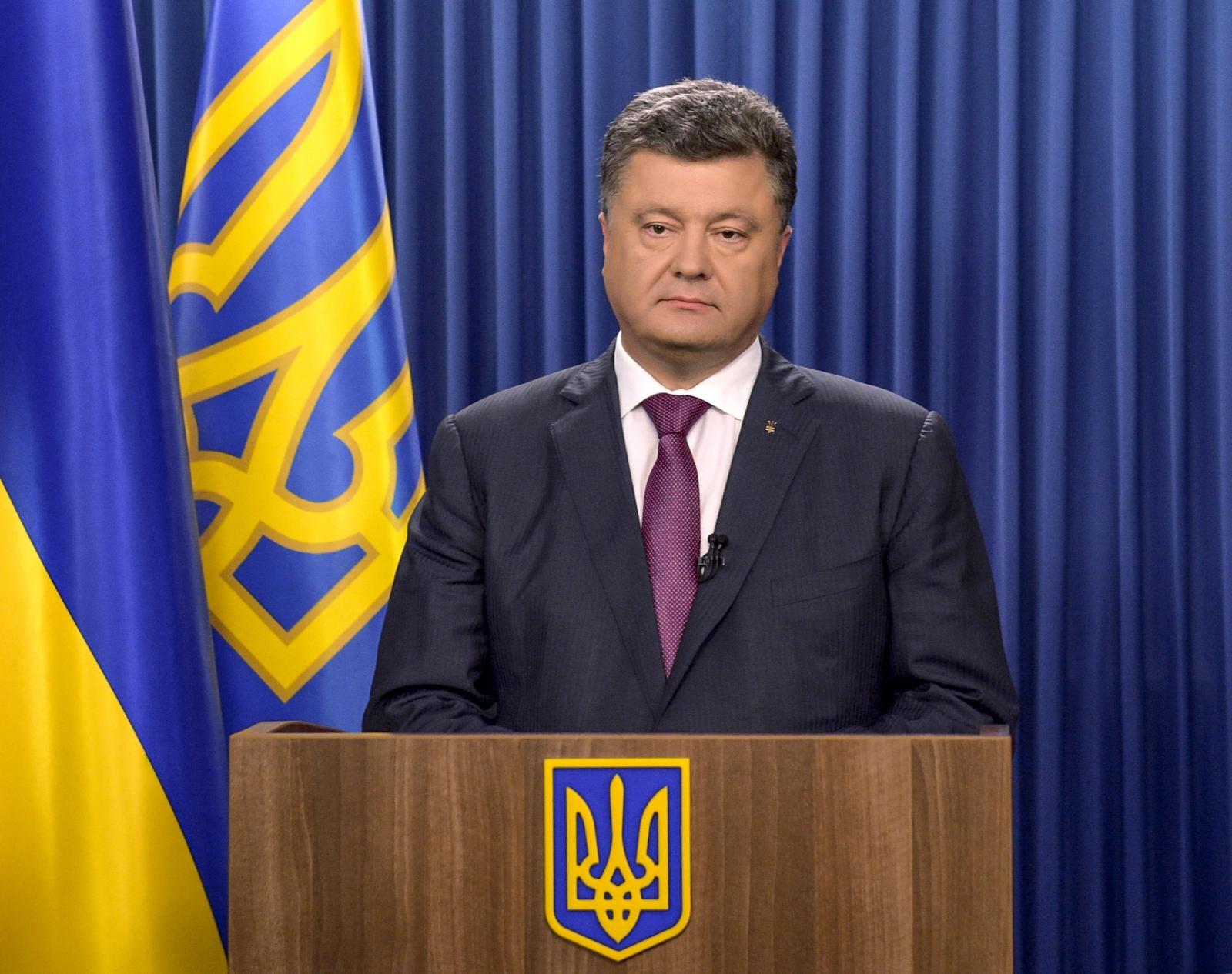 Ukraine's Poroshenko – we've listened to foreign partners on corruption law