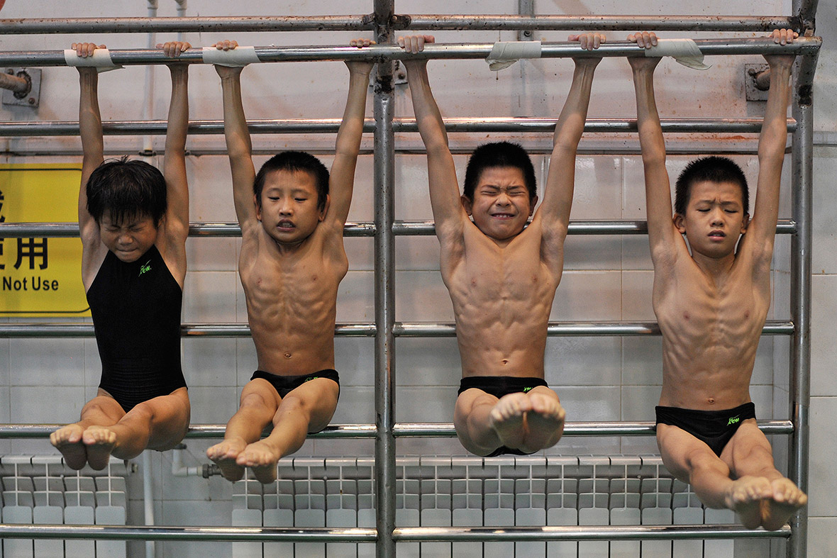 china children athletes
