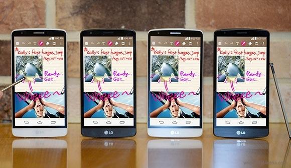LG G3 Stylus Unveiled Ahead of IFA 2014
