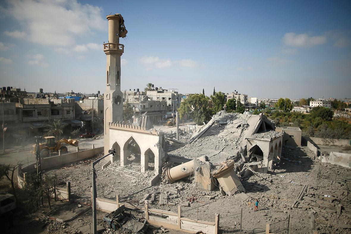 gaza mosque