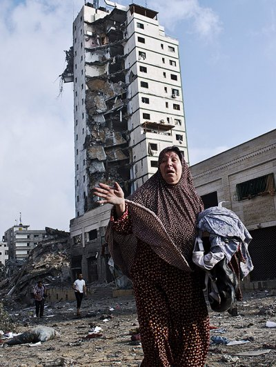 gaza tower
