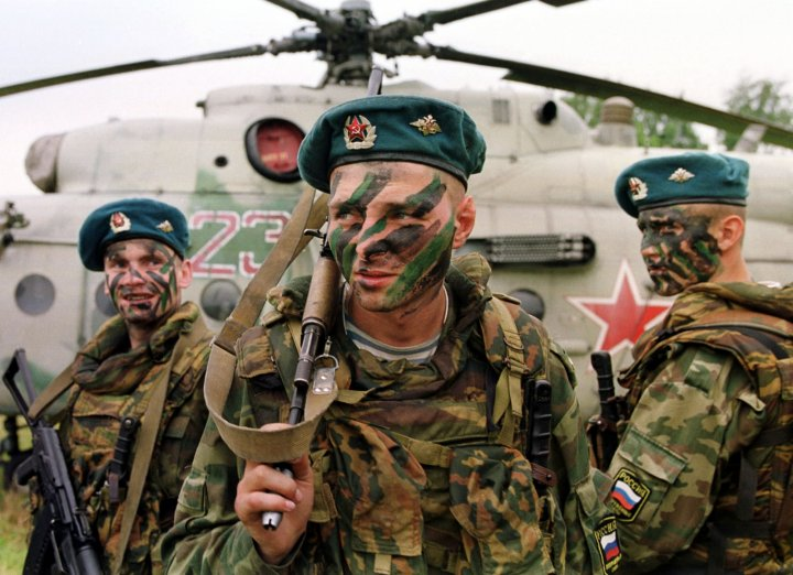 Russian Paratroopers