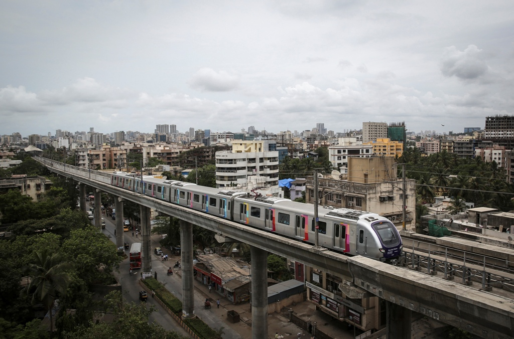 India Mumbai Metro Rail