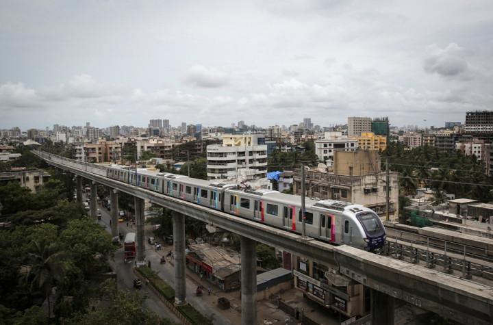 India Mumbai Metro Rail