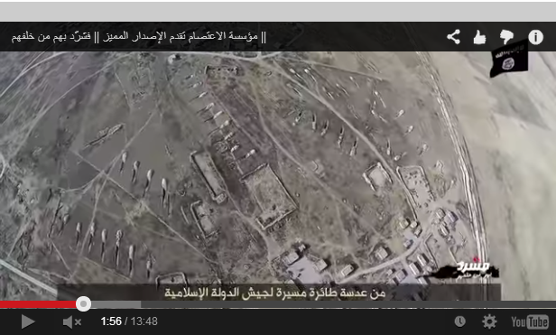 Isis Drone Video