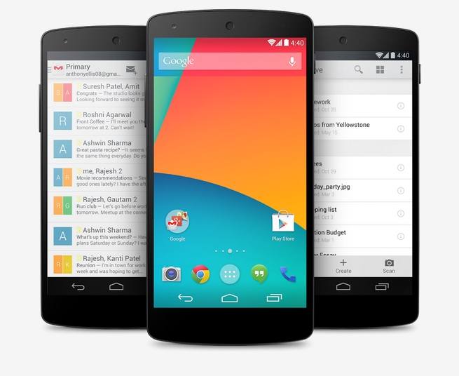 Nexus X (aka Nexus 6): AnTuTu Benchmarks Confirm Android L Version 5.0 and Internal Specifications