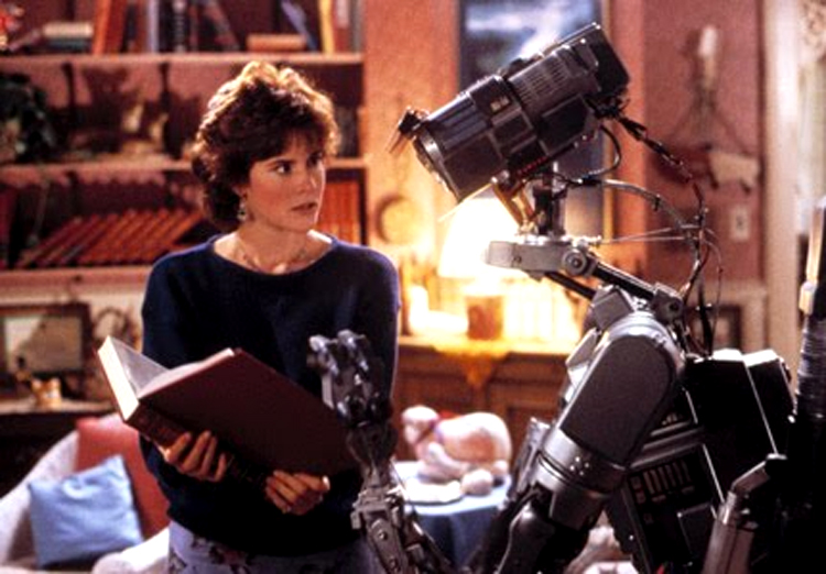 "The ""More Input!\"" scene in Short Circuit"