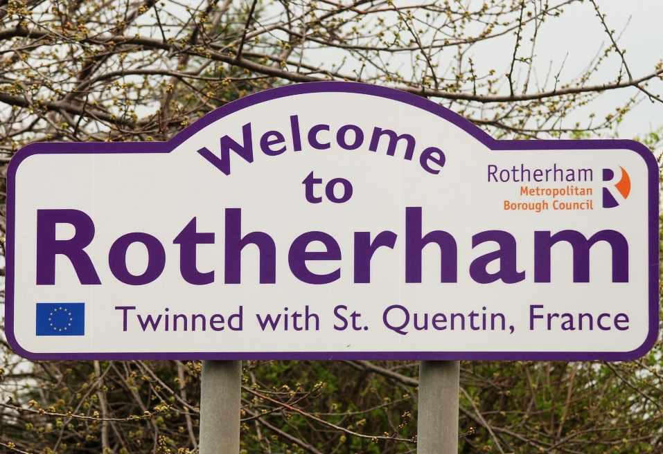 Rotherham sign
