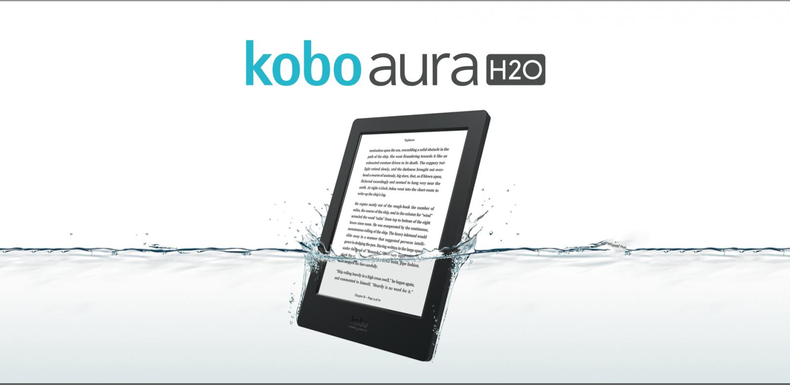 Kobo Aura H20 Waterproof Ereader