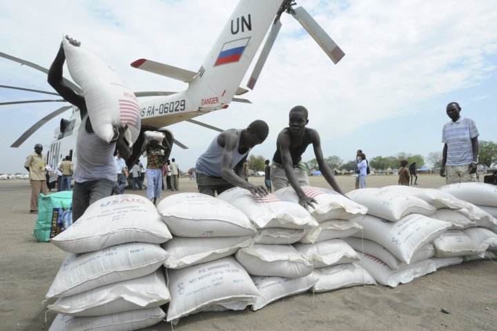 UN Helicopter 'Shot Down' in South Sudan