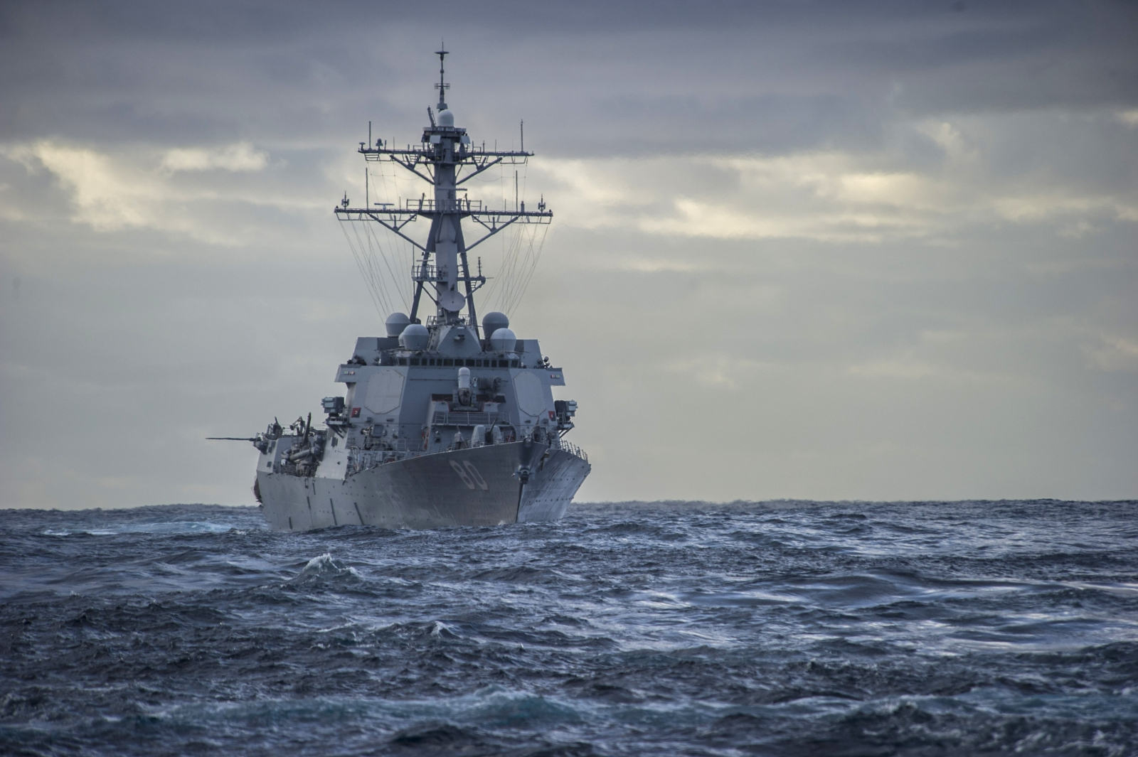 US Navy Ship Fires Warning Shot at Armed Iranian Dhow in Volatile Persian Gulf