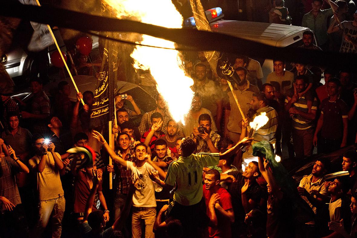 gaza fire breather