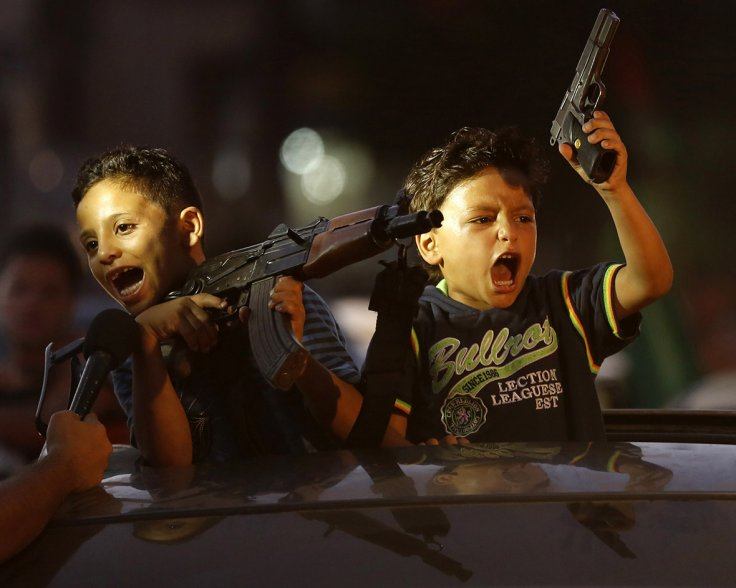 gaza kids with guns