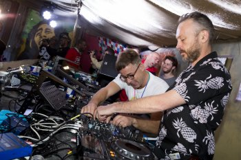 Basement Jaxx DJ-ing at the Notting Hill carnival over the weekend, but their current music style could change soon