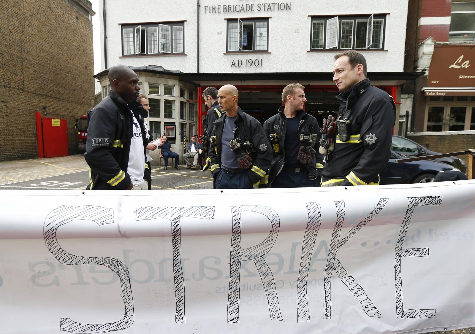 Firefighter Strike