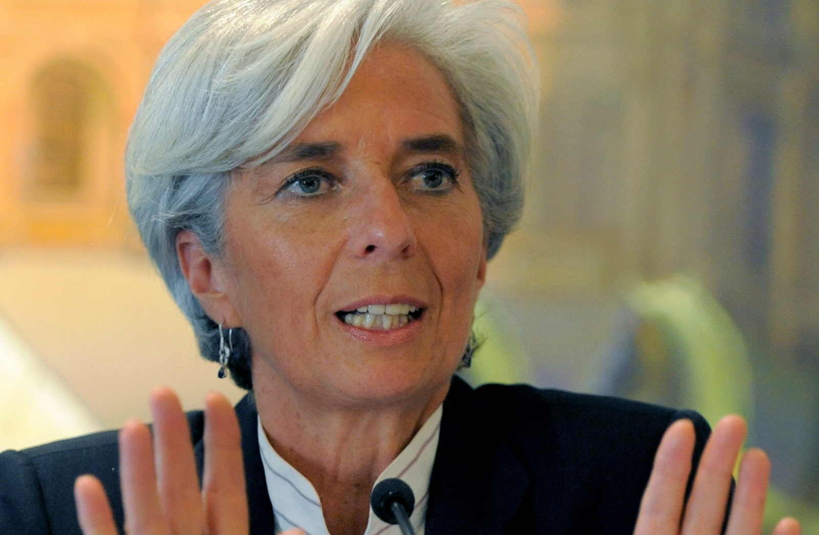 IMF Boss Christine Lagarde