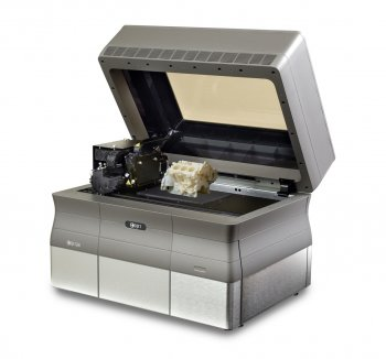 An example of a Stratasys Objet24 3D printer