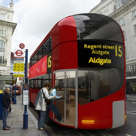 london bus tfl hybrid