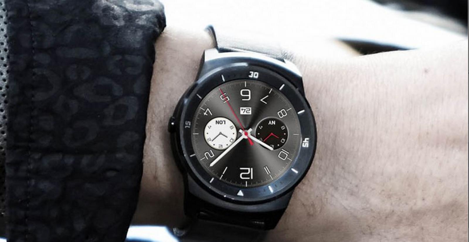 Best Smartwatches 2014 - LG G Watch R