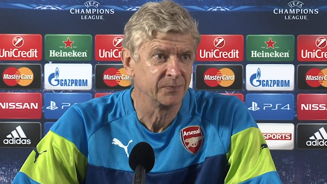 Wenger: Giroud Could Face Lengthy Spell on Sidelines
