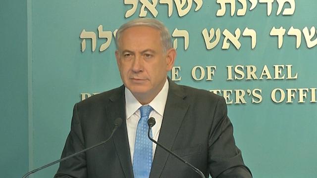 Netanyahu Threatens Vigorous Response to any Gaza Rocket Fire after Truce