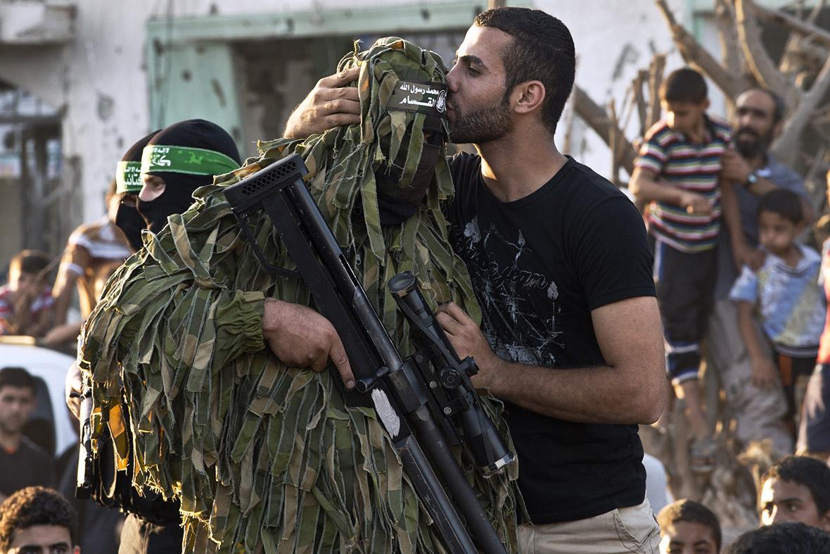 gaza celebrate