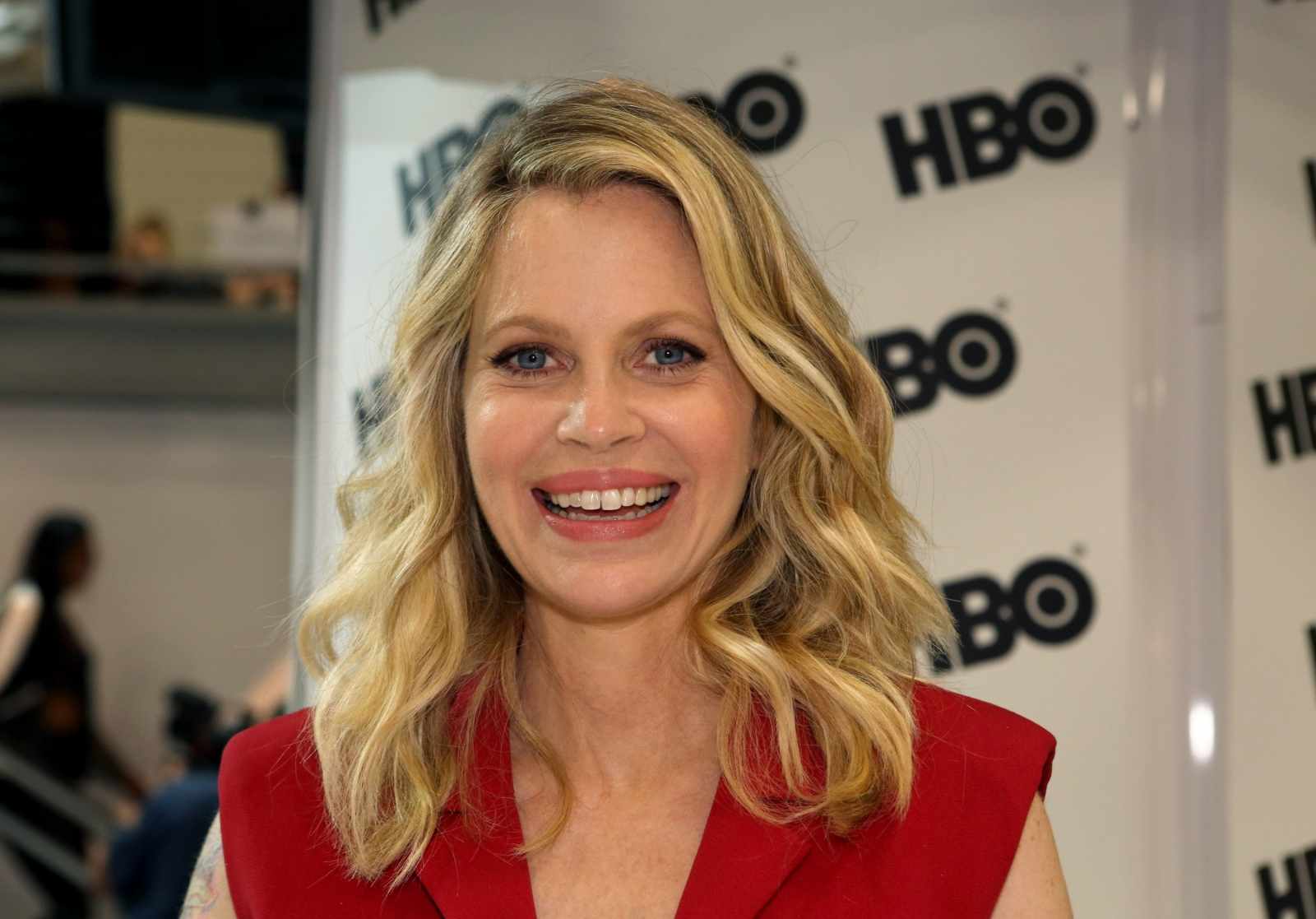 Kristin Bauer van Straten of 'True Blood'  as Maleficent in Once upon a time
