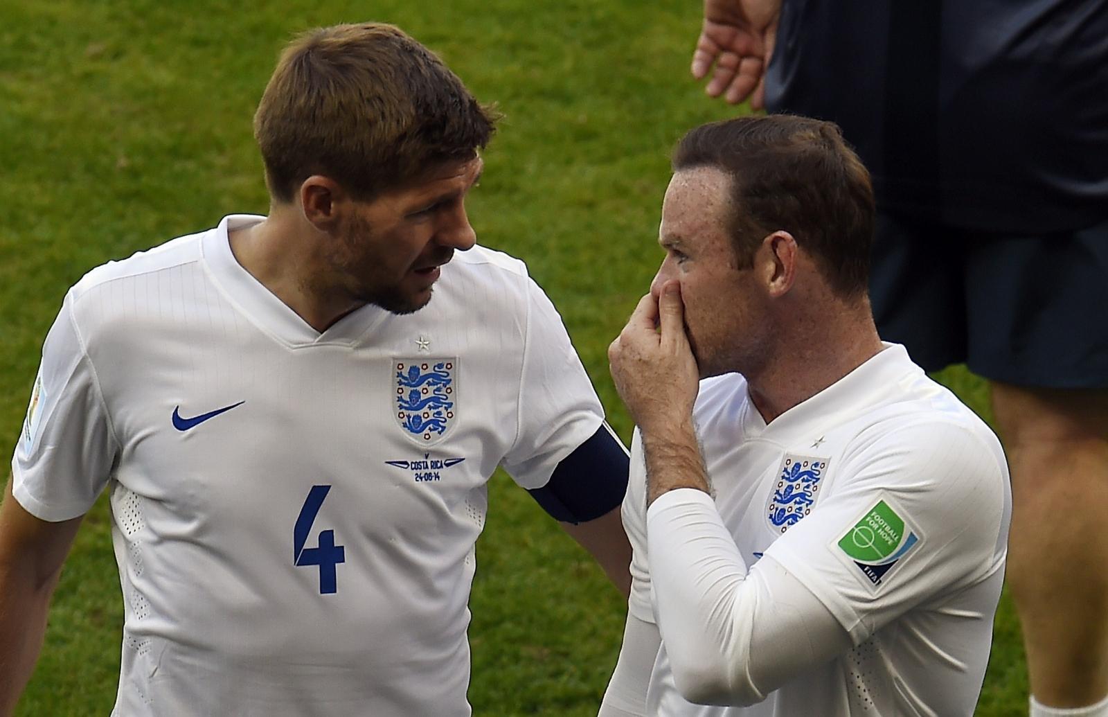 Wayne Rooney and Steven Gerrard